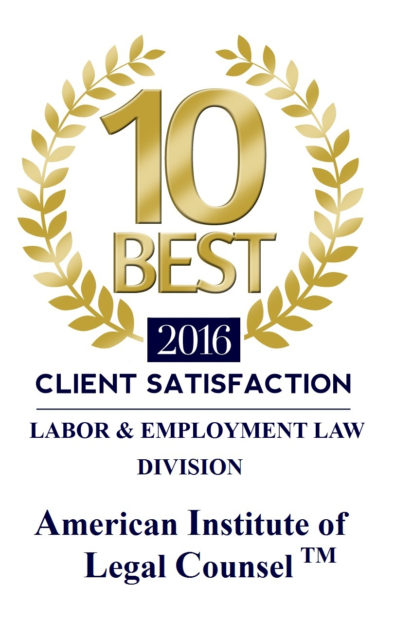 10 Best - Labor & Employment Law Division