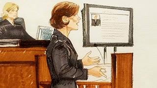 julie porter in court room.
